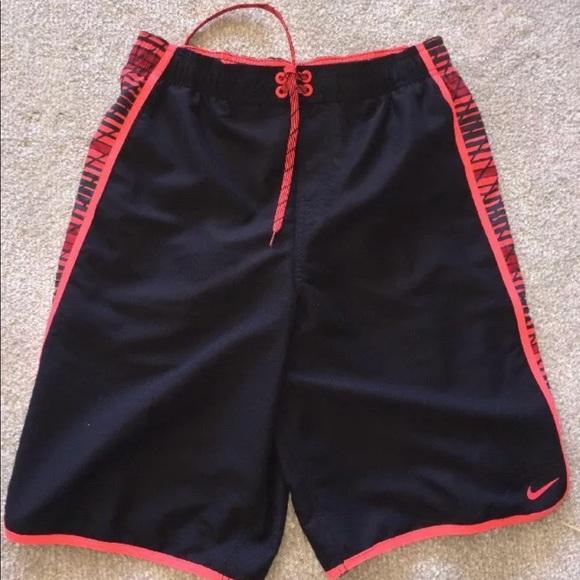 014be1b617e Nike Swim | 11 Mens Trunks Volley Shorts Black | Poshmark